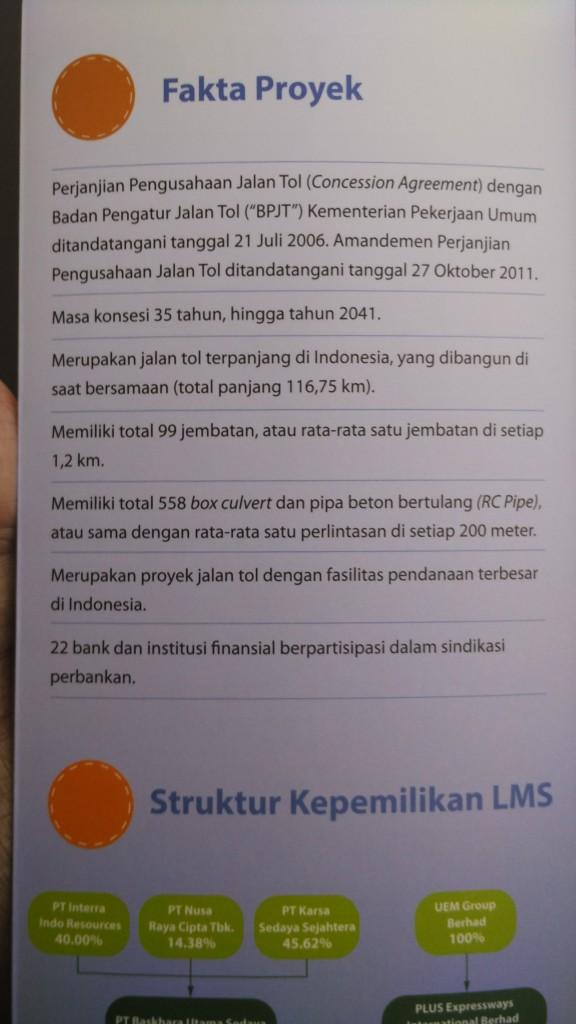 fakta proyek