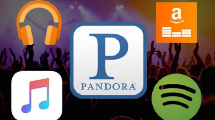 Berbagai layanan streaming musik. Sumber: www.palembang.tribunews.com