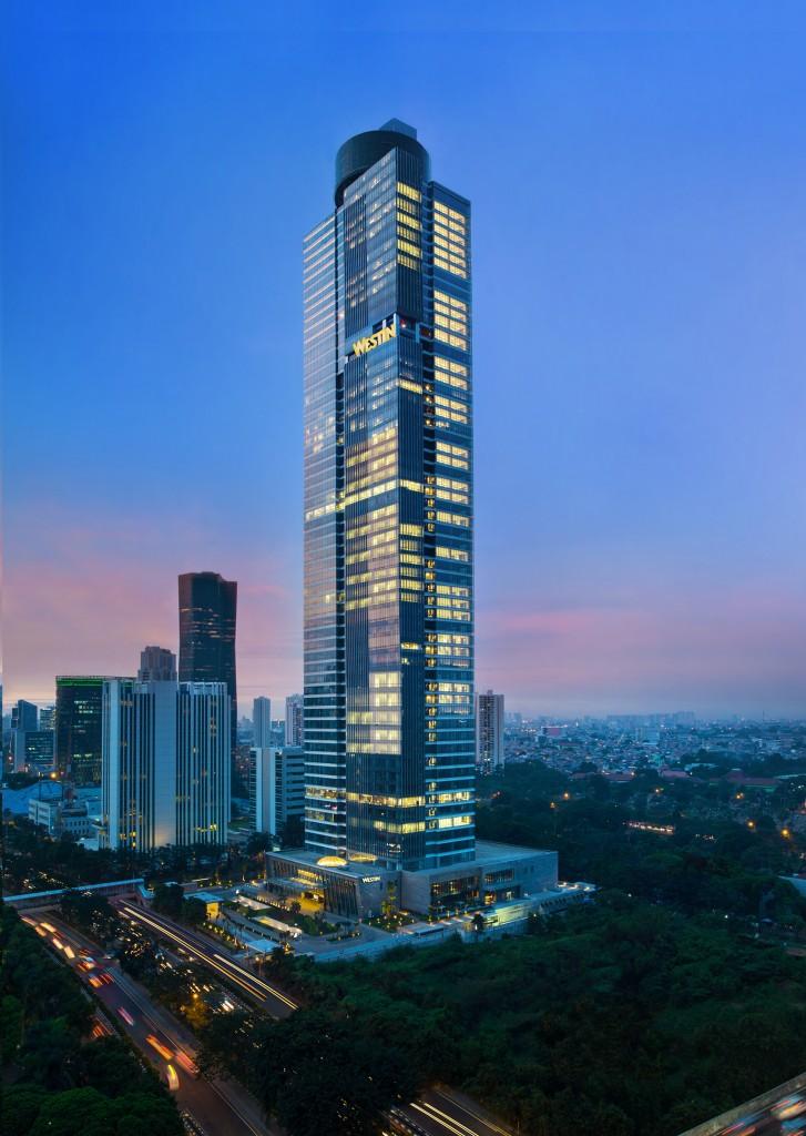Gama Tower. Sumber foto: Dokumen Westin