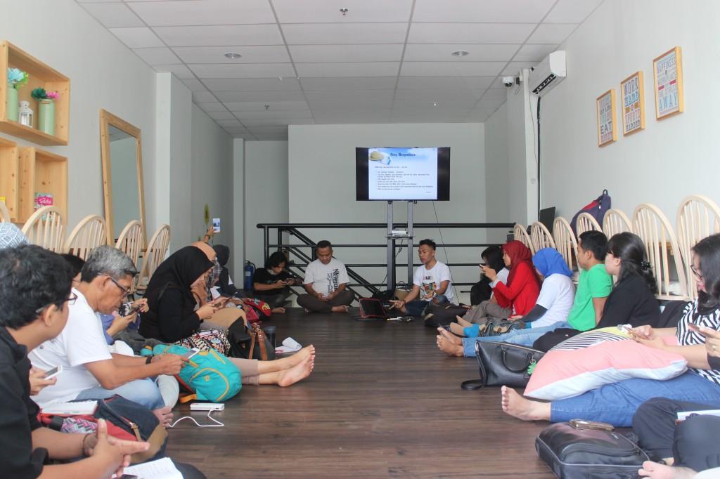 Suasana Kelas Blogger di Nutrifood Inspiring Center, Menteng, Jakarta, Sabtu (19/12). Foto: dokumen pribadi