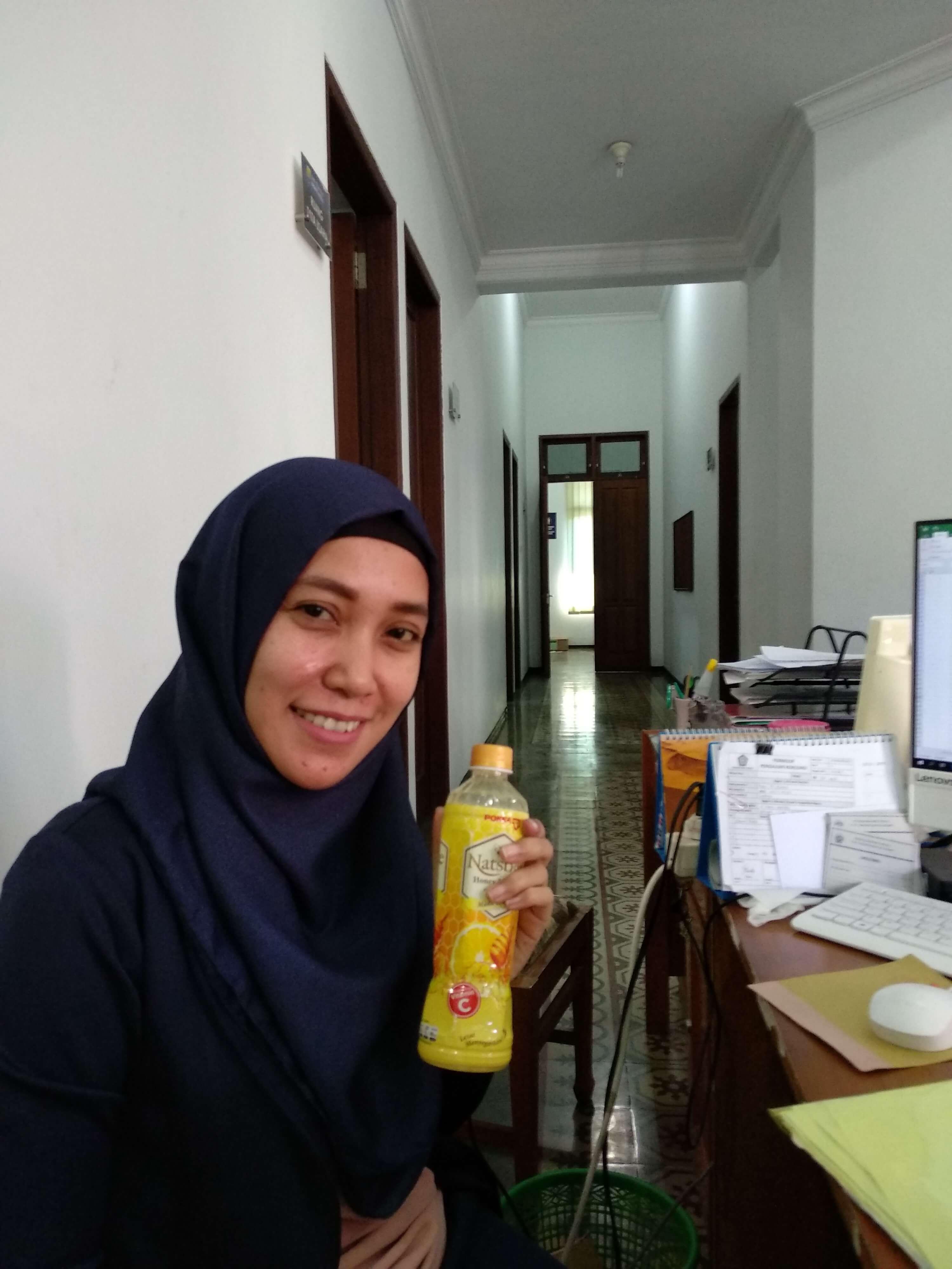 Pokka Natsbee Honey Lemon, vitamin C, lemon, madu, toxic, stres, sakit, minuman, sehat