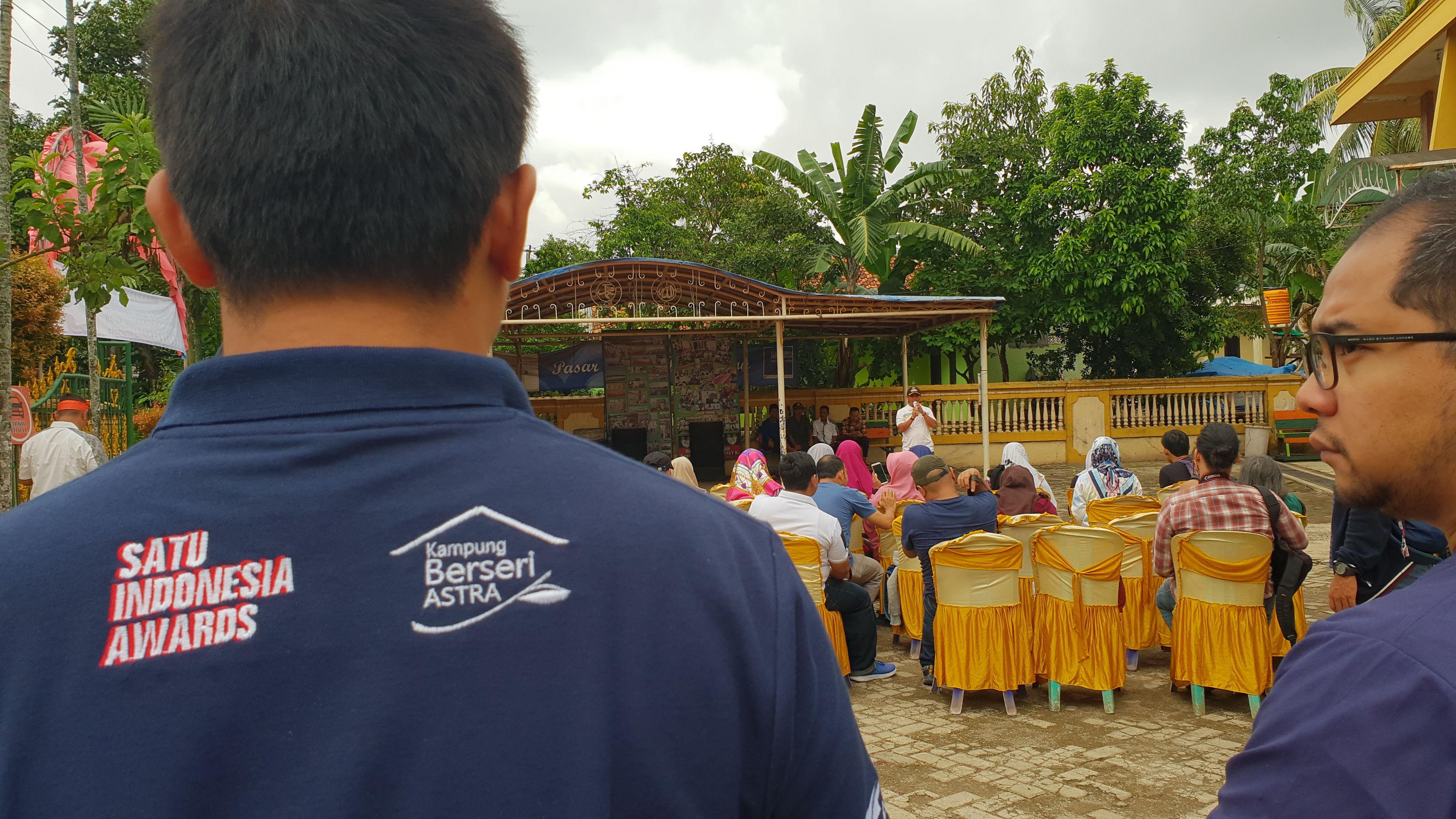 Astra International, Daihatsu, Toyota, Honda, Kampung Sawah, Lengkong Kulon, Pandeglang, Stunting, Ekonomi, Kampung Berseri Astra