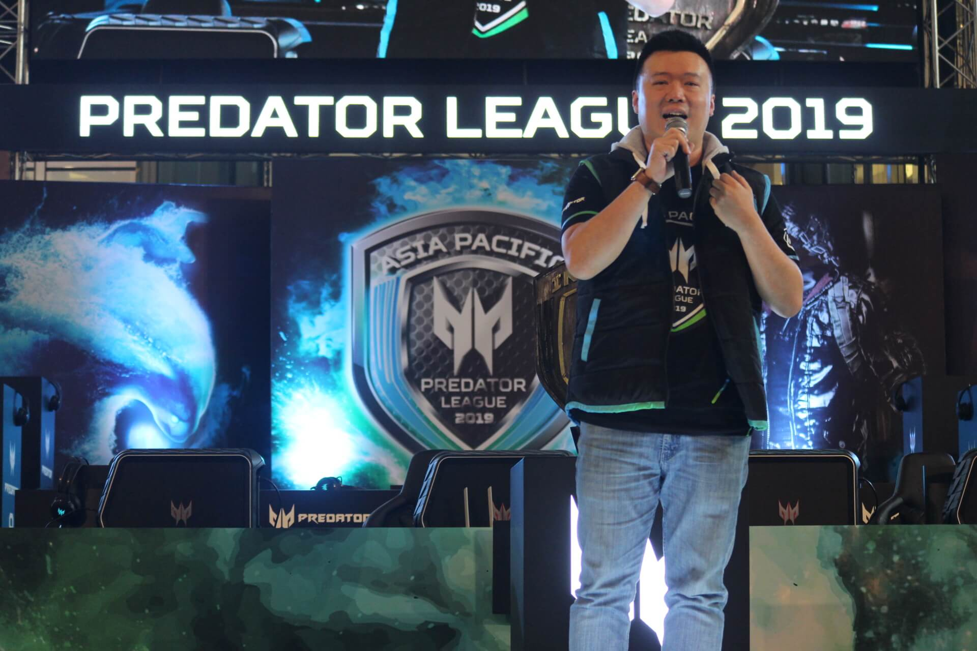Defense of the Ancients (DOTA) 2, PlayerUnknown's Battlegrounds (PUBG), BOOM.ID, Aerowolf.TeamEight, esports, Asia Pasific Predator League 2019, Predator Thronos, Yohan Wijaya, Herbert Ang. ACER.