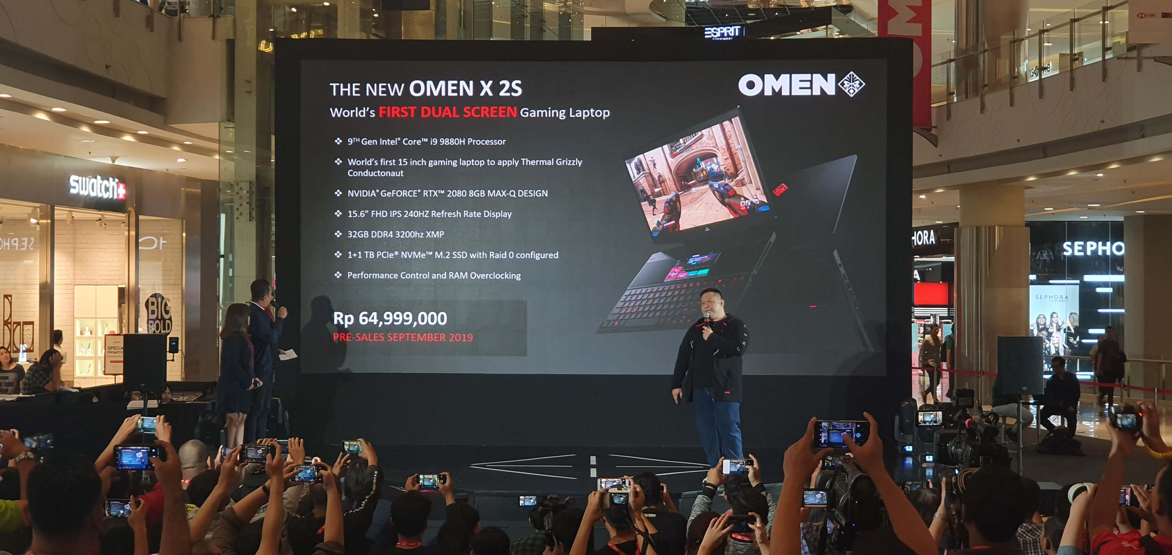 OMEN, HP Indonesia, HP Omen, laptop gaming, PC, personal computer, OMEN X 25, OMEN 15, Pavilion Gaming 15, gamers, gaming, e-sports, esports, Asian Games 2018, Campus Legends, DOTA 2, Conter-Strike