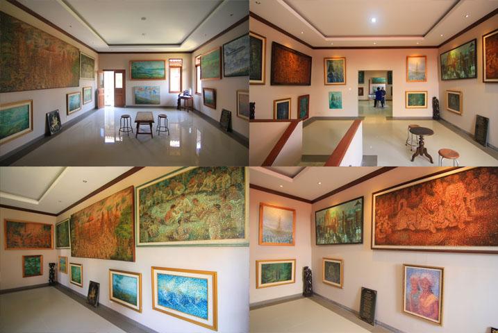 Museum Lukisan Sidik Jari, denpasar, wisata sejarah. dahayu leisure